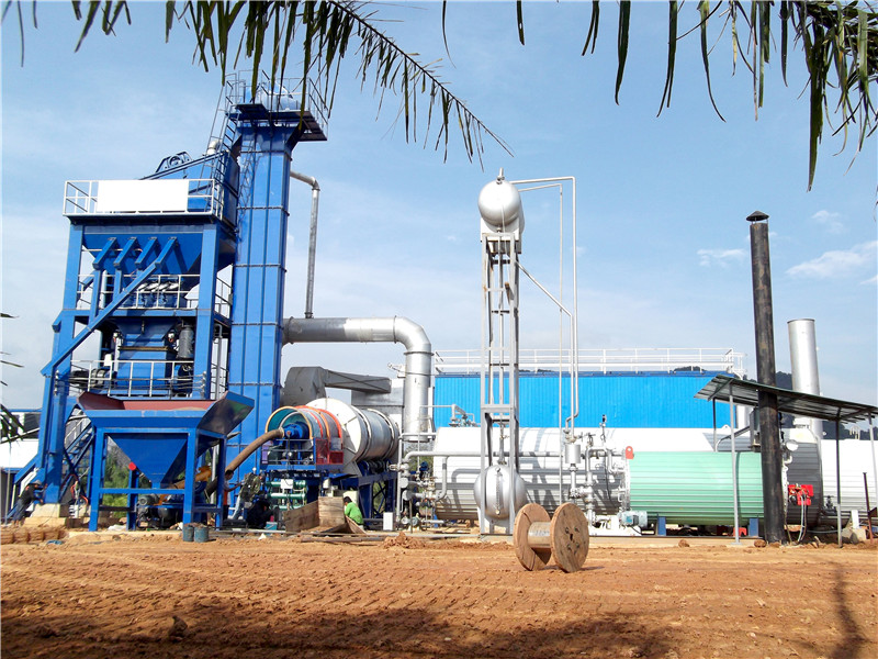 how the asphalt batch mix plant for sale works